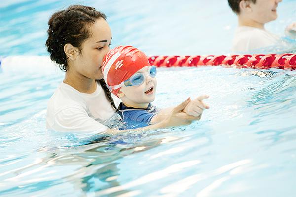 SwimEasy non-swimmer