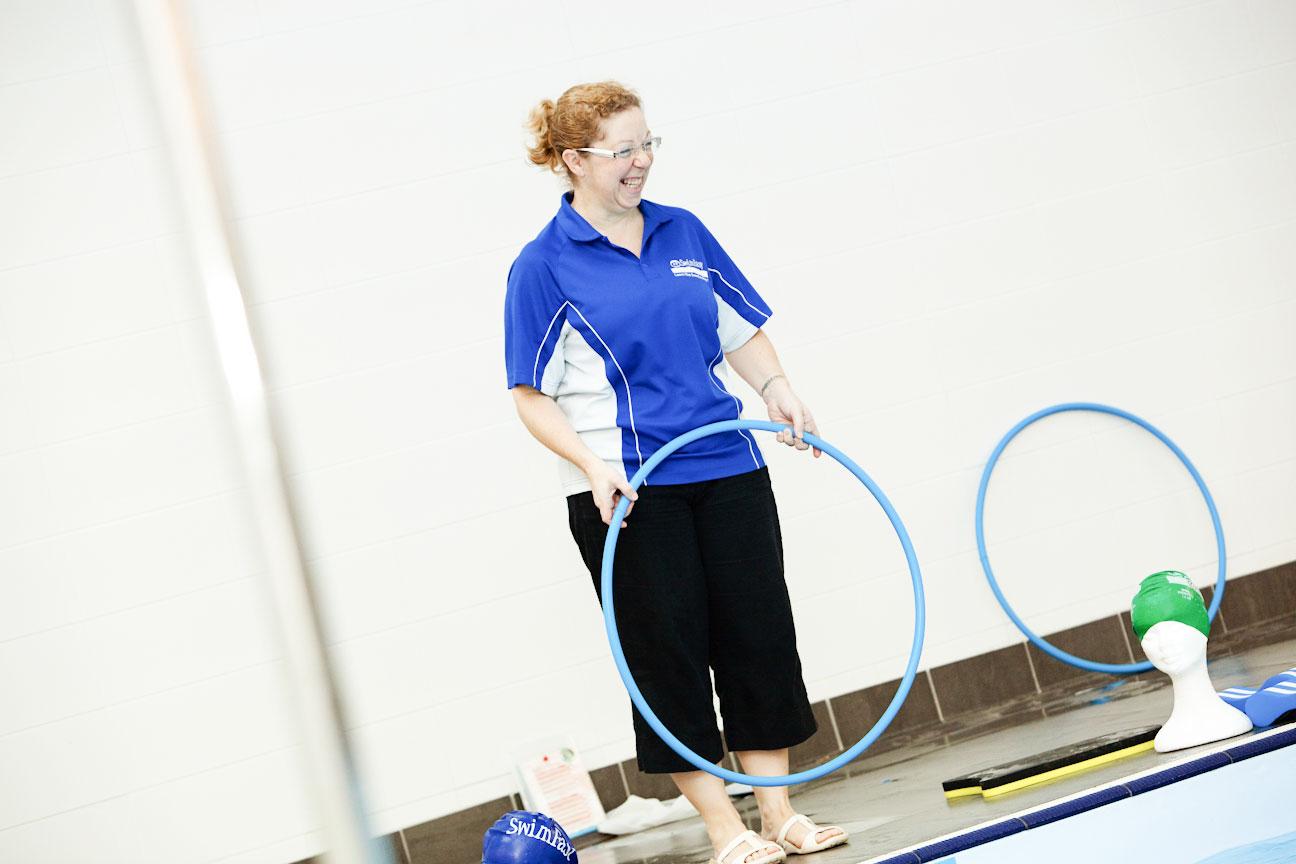 adult swimming glasgow